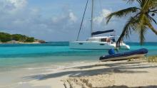 Fountaine Pajot Orana 44 : Anchorage in The Grenadines